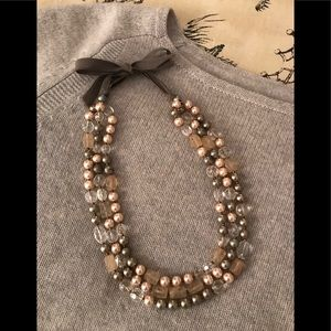 Jewelry - Charming Pearl and Bead Necklace